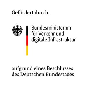 Logo Förderprojekt des BMVI
